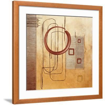 Intersections III--Framed Art Print