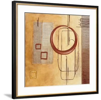 Intersections IV--Framed Art Print