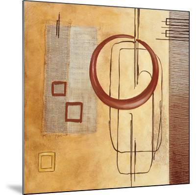 Intersections IV--Mounted Art Print