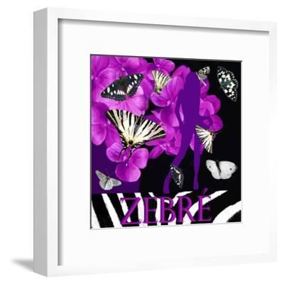 Zebré--Framed Art Print