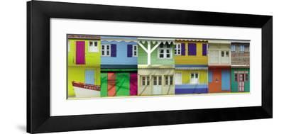 Maisons Créoles, Martinique-Roberto Scaroni-Framed Art Print