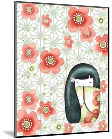 The Mizuki Dolls: Hanako-Sam Bamford-Mounted Art Print