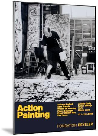 Painting Autumn Rhythm No. 30-Jackson Pollock-Mounted Art Print
