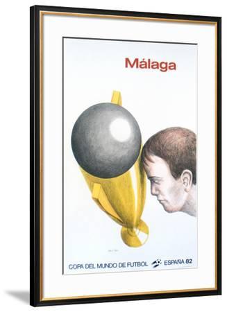 Malaga, Mundial-Roland Topor-Framed Collectable Print