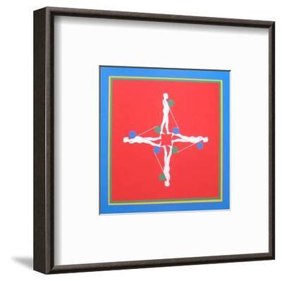 At Pace Columbus-Ernest Trova-Framed Art Print