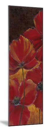 Midnight Poppy I-Richard Henson-Mounted Art Print