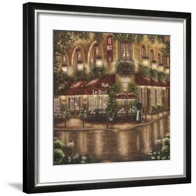 Café le Buci-Betsy Brown-Framed Art Print