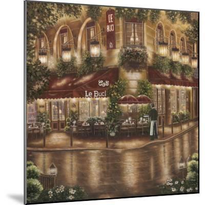 Café le Buci-Betsy Brown-Mounted Art Print