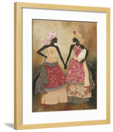 Village Women I-Carol Robinson-Framed Art Print
