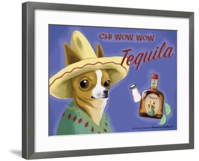 Chi Wow Wow Tequila-Brian Rubenacker-Framed Art Print