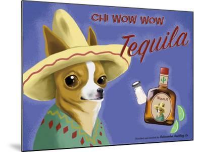 Chi Wow Wow Tequila-Brian Rubenacker-Mounted Art Print