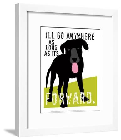 I'll Go Anywhere-Ginger Oliphant-Framed Art Print