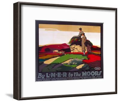 By LNER to the Moors, LNER, c.1923-1947--Framed Art Print