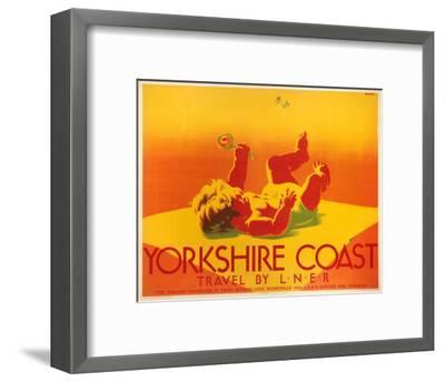 Yorkshire Coast, LNER, c.1923-1947--Framed Art Print