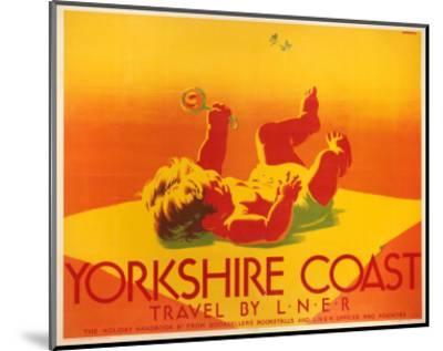 Yorkshire Coast, LNER, c.1923-1947--Mounted Art Print