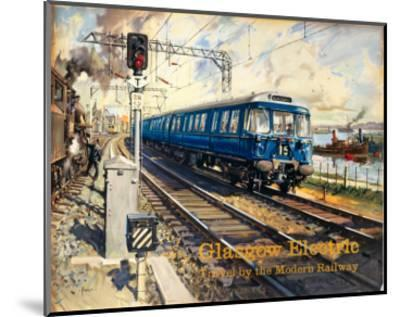 Glasgow Electric, BR (ScR), c.1960s--Mounted Art Print
