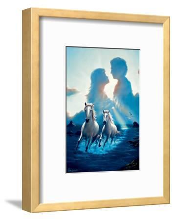 Together Again-Jim Warren-Framed Premium Giclee Print
