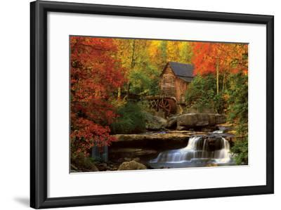 The Old Mill--Framed Premium Giclee Print