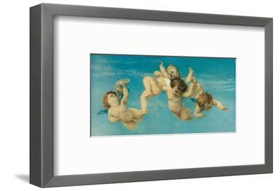 Birth of Venus (detail)-Alexandre Cabanel-Framed Premium Giclee Print