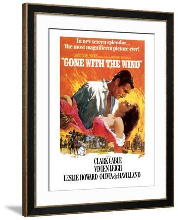 Gone with the Wind--Framed Premium Giclee Print