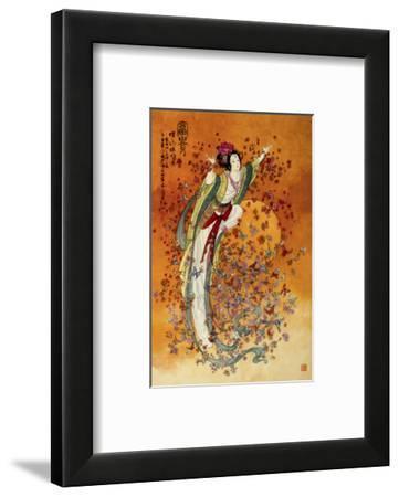 Goddess of Wealth--Framed Premium Giclee Print