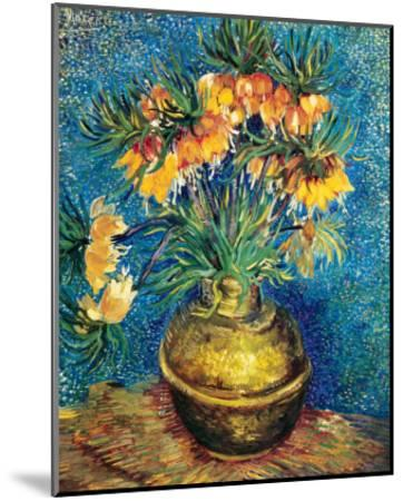 Crown Imperial Fritillaries in a Copper Vase, c.1886-Vincent van Gogh-Mounted Premium Giclee Print