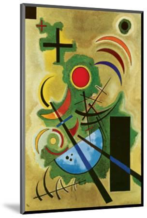 Solid Green-Wassily Kandinsky-Mounted Premium Giclee Print
