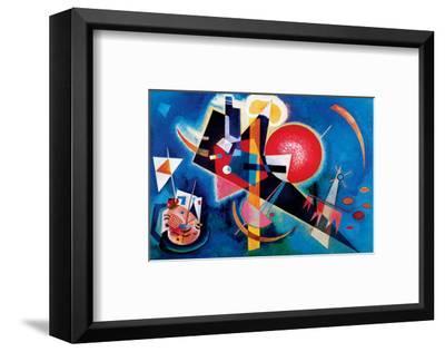Blue-Wassily Kandinsky-Framed Premium Giclee Print