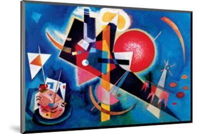 Blue-Wassily Kandinsky-Mounted Premium Giclee Print
