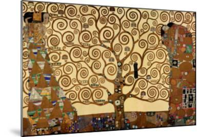 The Tree of Life, Stoclet Frieze, c.1909-Gustav Klimt-Mounted Premium Giclee Print