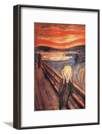 The Scream-Edvard Munch-Framed Premium Giclee Print