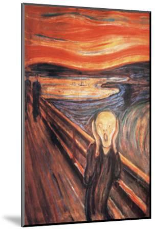 The Scream-Edvard Munch-Mounted Premium Giclee Print