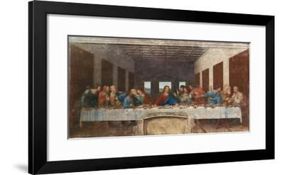The Last Supper, c.1498-Leonardo da Vinci-Framed Premium Giclee Print