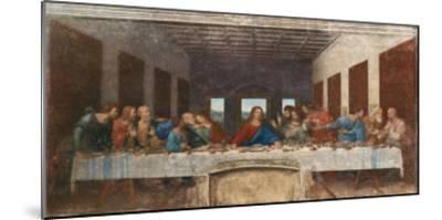 The Last Supper, c.1498-Leonardo da Vinci-Mounted Premium Giclee Print