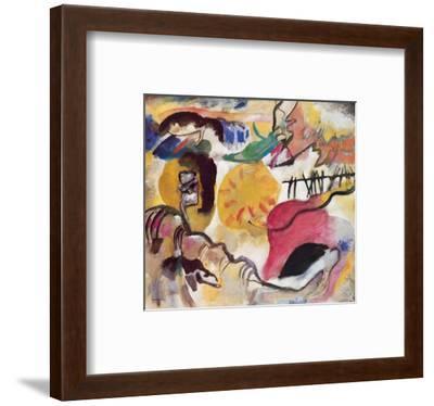 Improvisation No. 27 (The Garden of Love), c.1912-Wassily Kandinsky-Framed Premium Giclee Print