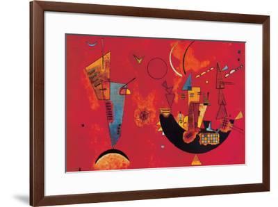 Mit und Gegen-Wassily Kandinsky-Framed Premium Giclee Print