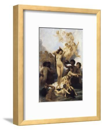 The Birth of Venus-William Adolphe Bouguereau-Framed Premium Giclee Print