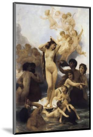 The Birth of Venus-William Adolphe Bouguereau-Mounted Premium Giclee Print