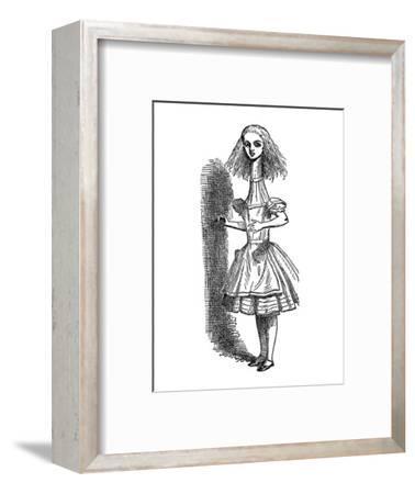 Alice's Adventure's in Wonderland-John Tenniel-Framed Premium Giclee Print
