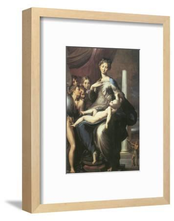 Madonna With The Long Neck-Parmigianino-Framed Premium Giclee Print