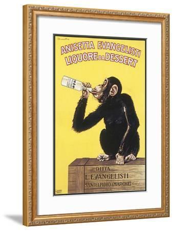 Anisetta Evangelisti, Liquore da Dessert-Carlo Biscaretti-Framed Premium Giclee Print