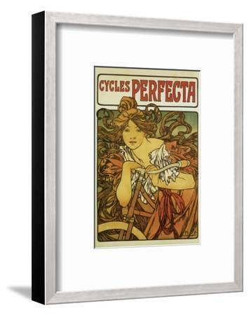 Cycles Perfecta-Alphonse Mucha-Framed Premium Giclee Print