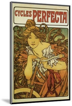 Cycles Perfecta-Alphonse Mucha-Mounted Premium Giclee Print