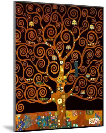 Under the Tree of Life-Gustav Klimt-Mounted Premium Giclee Print
