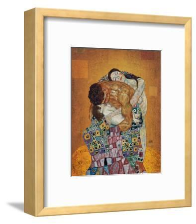 The Family-Gustav Klimt-Framed Premium Giclee Print