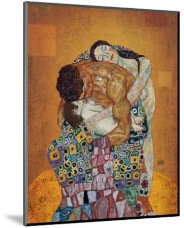 The Family-Gustav Klimt-Mounted Premium Giclee Print