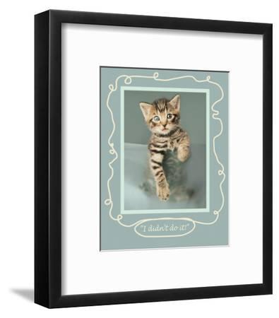 I Didn't Do It-Rachael Hale-Framed Premium Giclee Print