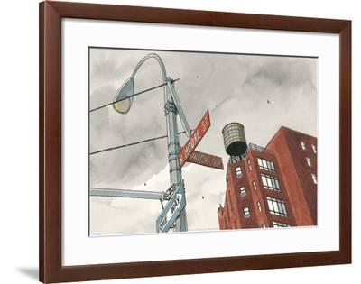 N. Moore Street-Andr? Juillard-Framed Art Print