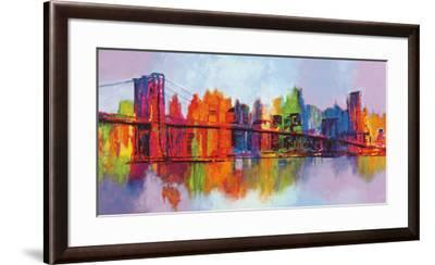 Abstract Manhattan-Brian Carter-Framed Art Print