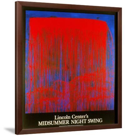 Night Swing-Pat Steir-Framed Serigraph
